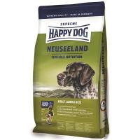Корм сухой Happy Dog Neuseeland для собак мелких пород с ягненком и рисом 4кг
