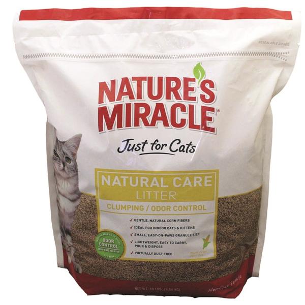 Наполнитель для кошек Nature's Miracle комкующийся 4.54л