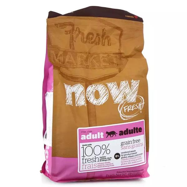 Корм сухой Now Natural Adult для кошек с индейкой уткой и овощами 0.23кг