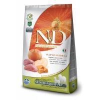 Корм сухой Farmina N&D для собак мелких пород с мясом кабана яблоком и тыквой